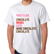 $10 Tee - Chocolate Roses Love